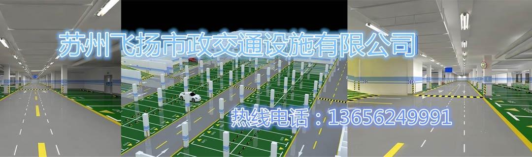 停车场划线工程案例